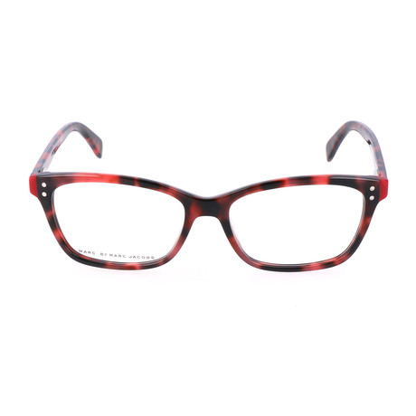 Archie Frame // Black + Red Tortoise