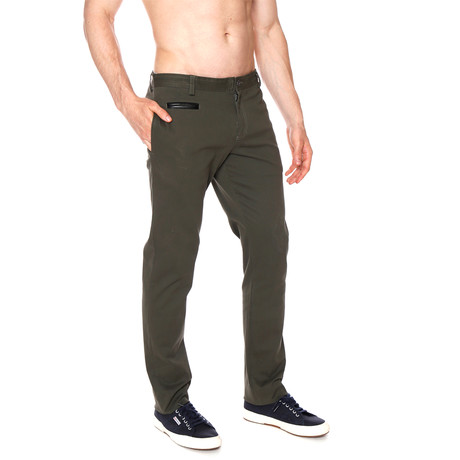 Solid Lido Trouser // Forest Green (28)