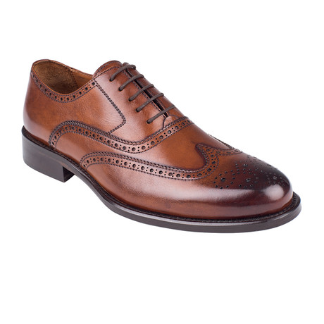 Full Brogue Oxford  // Tobacco Antique (Euro: 39)