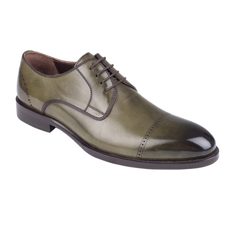 Cap Toe Derby  // Green Antique (Euro: 39)