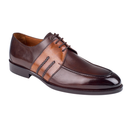 Color Block Derby // Brown Antique (Euro: 39)