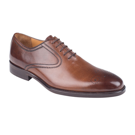 Plain Toe Oxford // Tobacco Antique (Euro: 39)