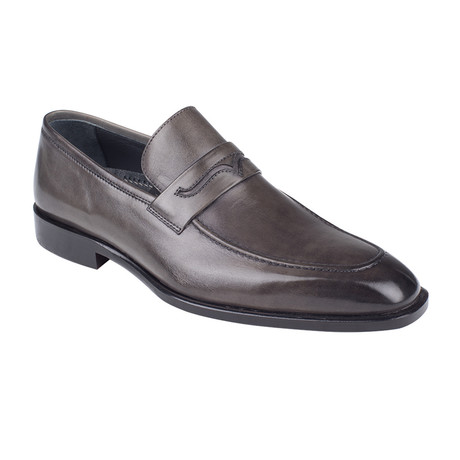 Penny Loafer // Gray Antique