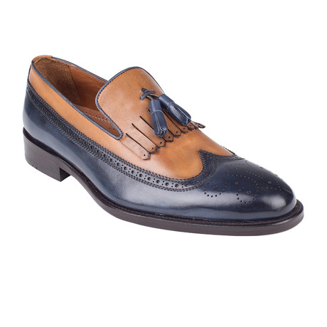 Color Block Loafer // Navy Antique (Euro: 39)