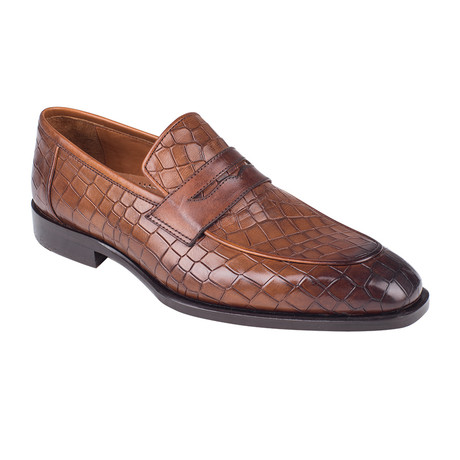 Penny Loafer // Tobacco Croco (Euro: 39)