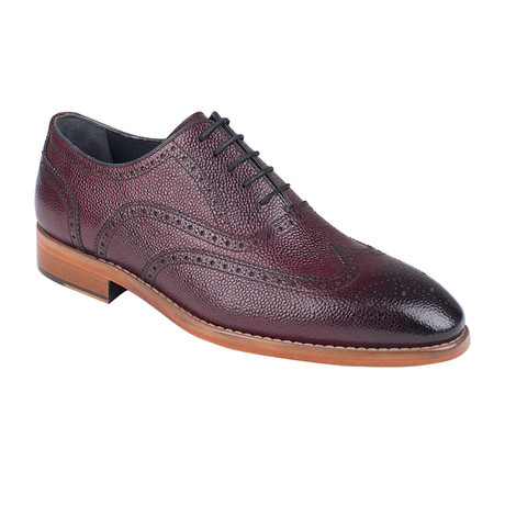 Brogue Oxford // Burgundy Antique (Euro: 39)