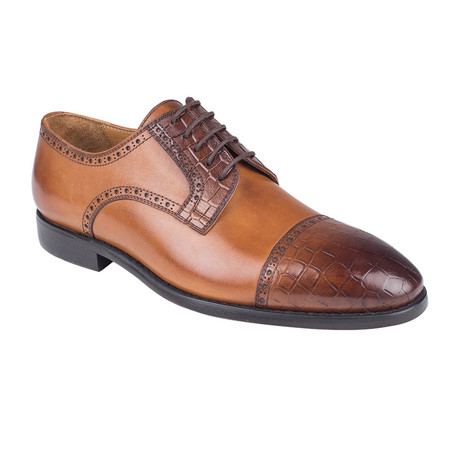 Cap Toe Derby // Tobacco Antique (Euro: 39)