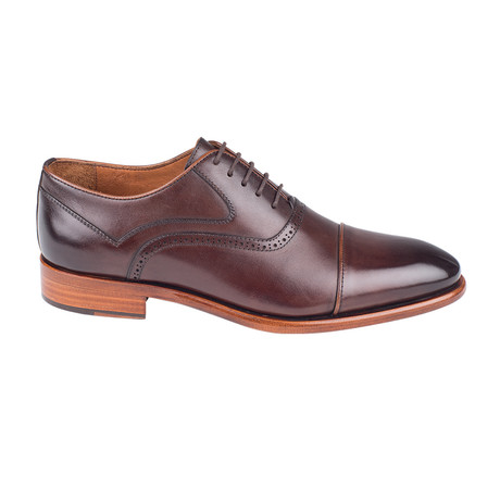Cap Toe Oxford // Brown Antique (Euro: 39)