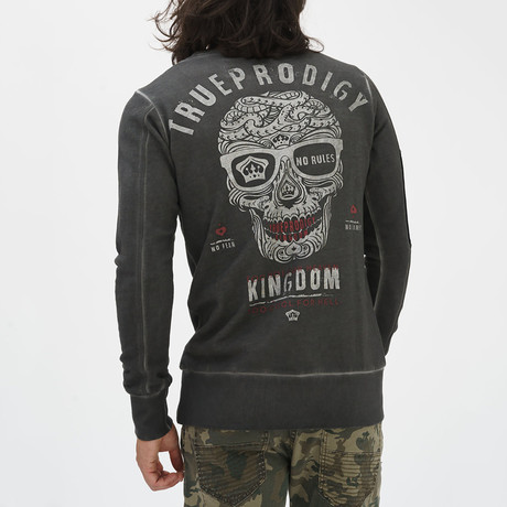 Kingdom Sweatshirt // Anthracite (S)