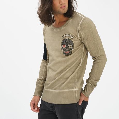 Kingdom Sweatshirt // Khaki (S)