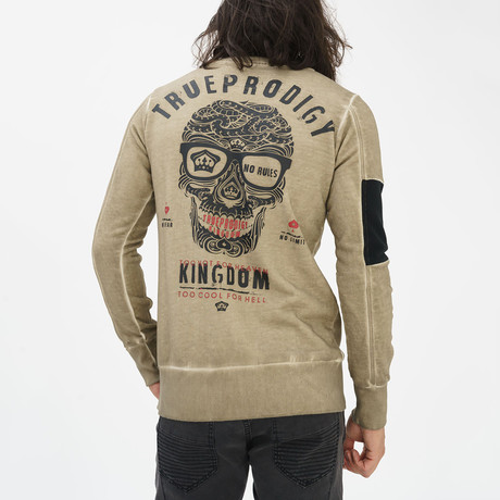 Kingdom Sweatshirt // Khaki (S)