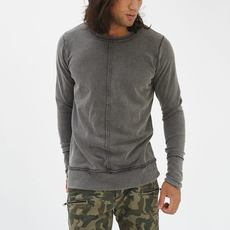 Fray Sweatshirt // Anthracite (S)
