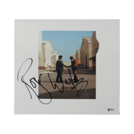 "Roger Waters Signed Pink Floyd ""Wish You Were Here"" Vinyl Record Album"
