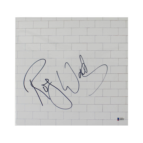 "Roger Waters Signed Pink Floyd ""The Wall"" Vinyl Record Album"