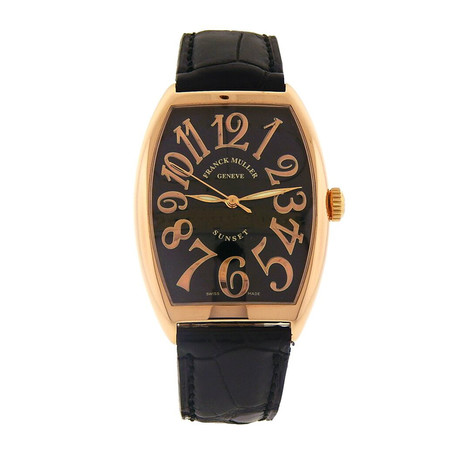 Franck Muller Cintree Curvex Sunset Automatic // Pre-Owned