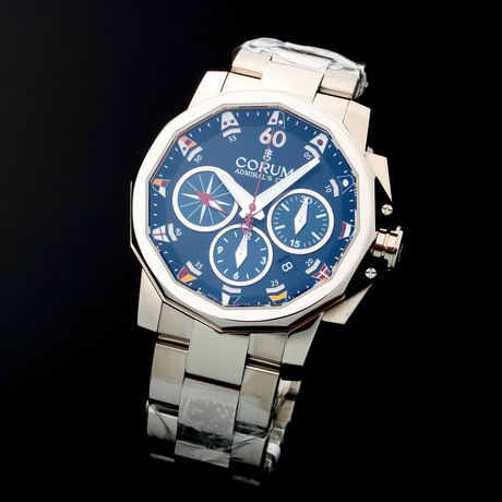 Corum Admiral's Cup Legend Chronograph Automatic // 753.693.20 // Unworn