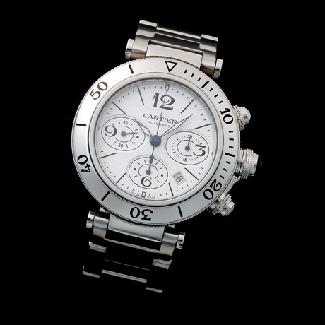 Cartier Pasha Chronograph Automatic // W310 // Pre-Owned