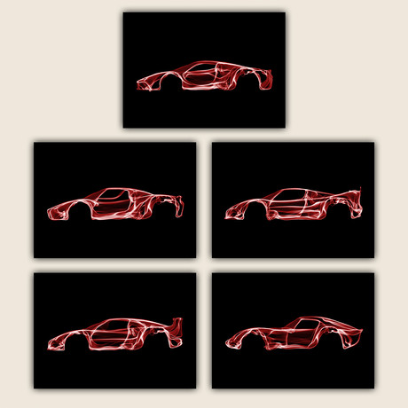 Ferrari Collection // Set of 5