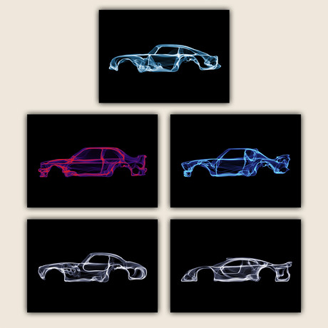 Car Collection II // Set of 5