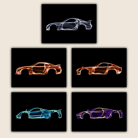 Car Collection IV // Set of 5