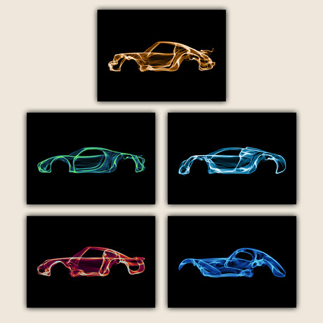 Car Collection III // Set of 5