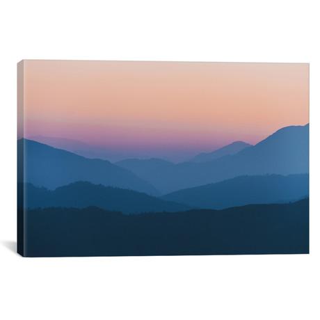 "Annapurna Himalayas, Nepal III (18""W x 26""H x 0.75""D)"