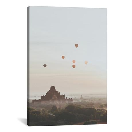"""Bagan, Myanmar II (26""""W x 18""""H x 0.75""""D)"""