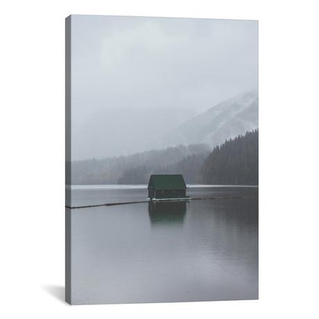 "Capilano Lake, Vancouver (26""W x 18""H x 0.75""D)"