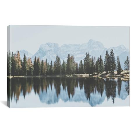 """Dolomites, Italy I // Luke Anthony Gram Canvas Print (26""""W x 18""""H x 0.75""""D)"""