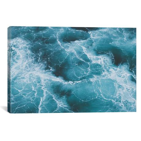 "Electric Ocean (18""W x 26""H x 0.75""D)"