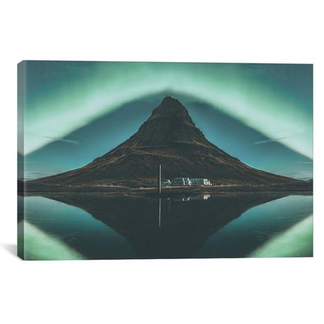 """Kirkjufell, Iceland I (18""""W x 26""""H x 0.75""""D)"""