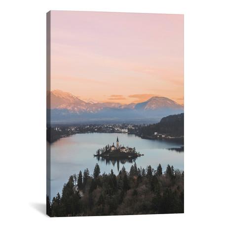"""Lake Bled, Slovenia (26""""W x 18""""H x 0.75""""D)"""
