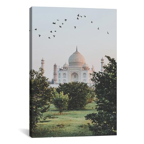 """Taj Mahal, India I (26""""W x 18""""H x 0.75""""D)"""