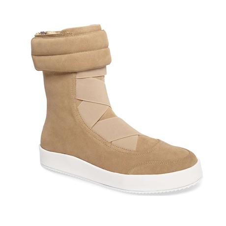 Parachute Suede Boots // Sand