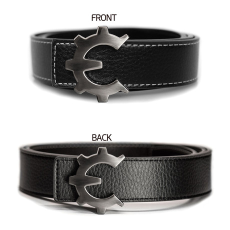 Dark Smoke Genii Belt // Black (30)