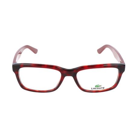 Men's L2672 Optical Frames // Red Havana (52mm)