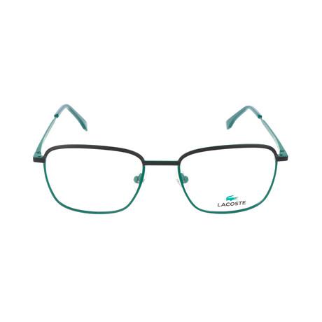 Men's L2222 Optical Frames // Matte Green