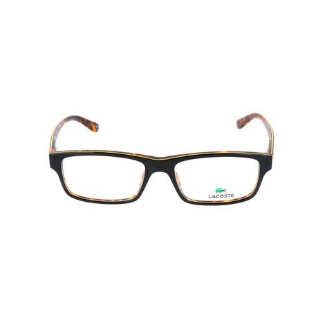 Men's L2705 Optical Frames // Black + Yellow + Havana