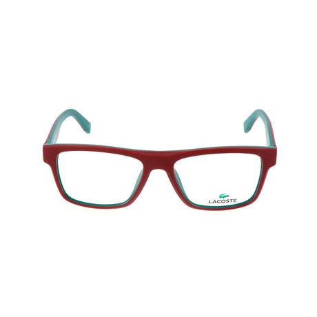 Unisex L2792 Optical Frames // Matte Red