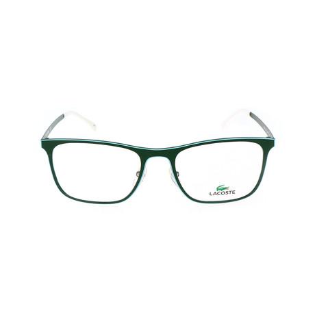 Men's L2231 Optical Frames // Matte Green