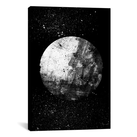 """Our Moon (12""""W x 18""""H x 0.75""""D)"""