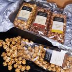 Artisanal Flavored Caramel Corn Gift Box // Set of 4