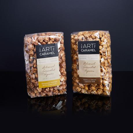 Artisanal Flavored Caramel Corn Favorites // Set of 2
