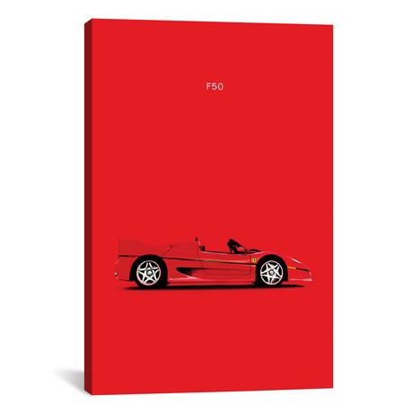 """Ferrari F50 (26""""W x 18""""H x 0.75""""D)"""