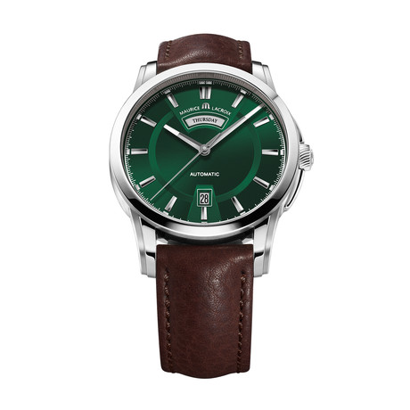 Maurice LaCroix Pontos Day + Night Automatic // PT6158-SS001-63E-1