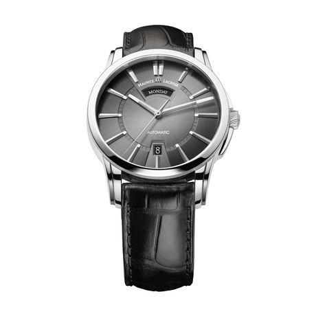 Maurice LaCroix Pontos Day + Night Automatic // PT6158-SS001-23E-1