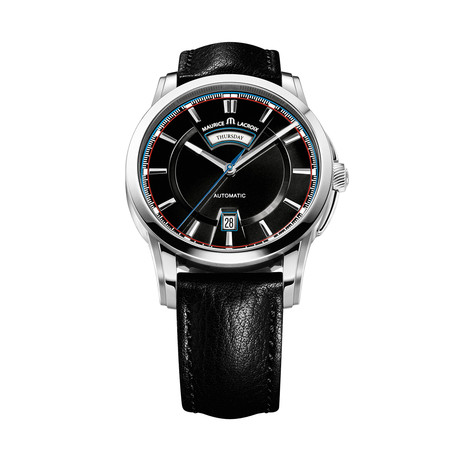 Maurice LaCroix Pontos Day + Night Automatic // PT6158-SS001-331-1