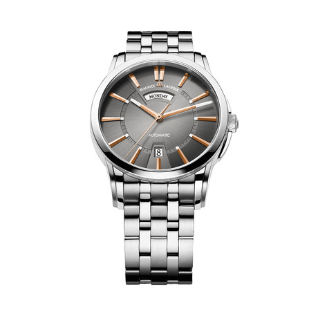 Maurice LaCroix Pontos Day + Night Automatic // PT6158-SS002-03E-1