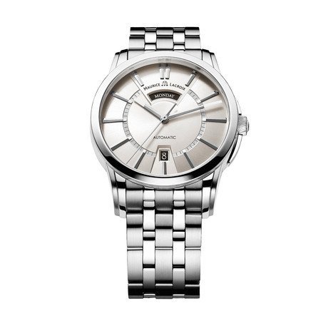 Maurice LaCroix Pontos Day + Night Automatic // PT6158-SS002-13E-1