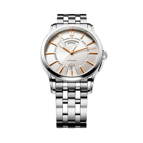 Maurice LaCroix Pontos Day + Night Automatic // PT6158-SS002-19E-1